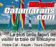 Miami Catamaran propose des tours charter, croisieres, location de catamarans et kayaks