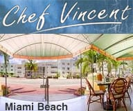 Chef Vincent - Restaurant Piano Tiki Bar a l'hotel Marseilles a Miami Beach