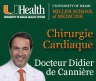Didier de Canniere. Specialiste du coeur, chirurgie cardiaque, mini invasive, robotique, maladies du coeur.