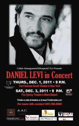 Daniel Levi en concert