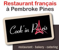 Cook'in Paris - Un restaurant francais a Pemproke Pines