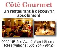 Cote Gourmet Restaurant Miami