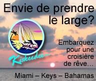 Croisière en voilier a Miami, Les Keys et les Bahamas sur le voilier Kiskeedee