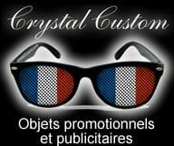 Crystal Customs - objets promotionnels, lunettes imprimees