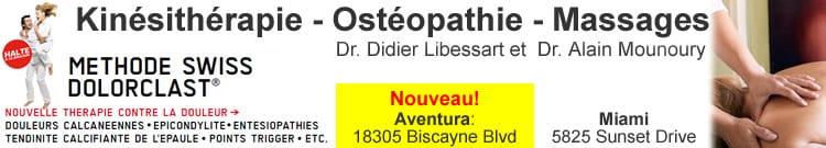 Docteur Didier Libessart et Docteur Alain Mounoury.