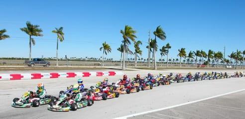 Faire du kart à Miami