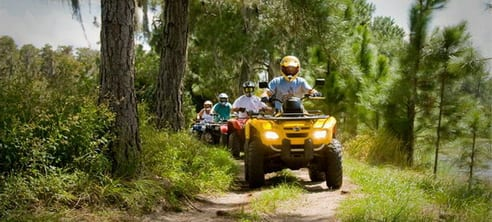 Faire du quad en Floride