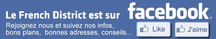 The French District est sur Facebook, rejoignez nous