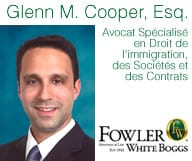 GLENN M. COOPER Esq.  Fowler White Boggs P.A