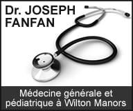 Le Docteur Joseph FANFAN est médecin généraliste à Wilton Manors et il exerce la médecine pédiatrique et la médecine interne.