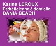 Karine LEROUX - Esthéticienne à domicile
