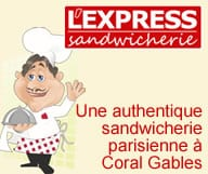 L'Express Sandwicherie Coral Gables
