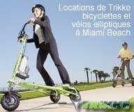 Sobe Funride - Location de velo elliptique, bicyclettes et trikke a Miami Beach