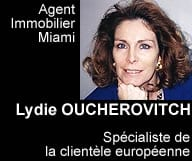 Lydie Oucherovitch, agent immobilier a Miami