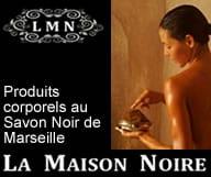 La Maison Noire distribue des produits de soin corporels à base de savon noir