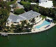 Villa de rêve à vendre sur la baie de Key Biscayne