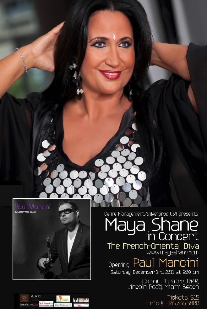 Maya Shane en concert