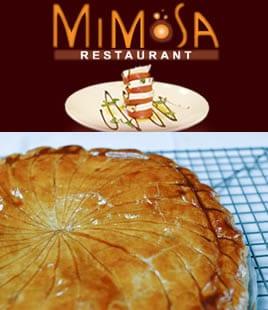 Galette des rois au Mimosa