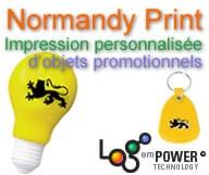 Normandy Print - Impression personnalisée d'objets promotionnels