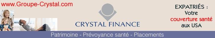 Groupe Crystal - Patrimoine, prévoyance santé et conseil en placements pour les expatriés.