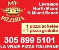 My Pizzeria North Miami Beach pizza italienne