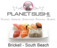 Planet Sushi Miami - 2 restaurants euro-japonais a South Beach et a Brickell.