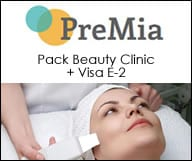 PreMia - Pack Beauty Clinic + Visa E2 Clés en Mains