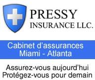 Pressy Insurance est un cabinet d'assurances a Miami