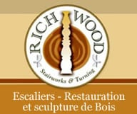 Richwood Stairworks Reparation Escaliers Staircase Design Wood Railing Miami