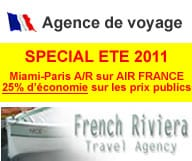 FRENCH RIVIERA TRAVEL AGENCY