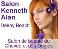 Kenneth Alan est un salon de coiffure a Delray Beach specialiste de la couleur, des meches et du lissage bresilien