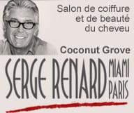 Serge Renard coiffeur et salon de beaute a Coconut Grove Miami Floride