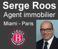 Serge Roos agent immobilier Paris Miami