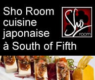 Sho Room est un restaurant lounge à Miami Beach South of Fifth servant une cuisine japonaise dont les sushis et les makis.