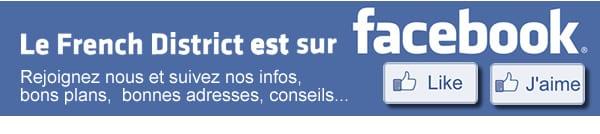 Devenez Fan de French District sur Facebook