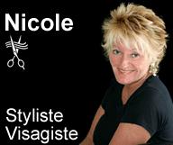 Nicole, Styliste Visagiste