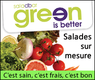 Saladbar Green is better