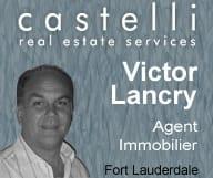Victor Lancry est agent immobilier dans la region de Fort Lauderdale