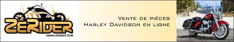 Zerider, le numéro 1 français de la vente de pièces Harley Davidson en ligne