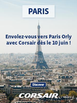 Corsair ouvre une nouvelle ligne Paris-Miami à partir du 10 juin 2019