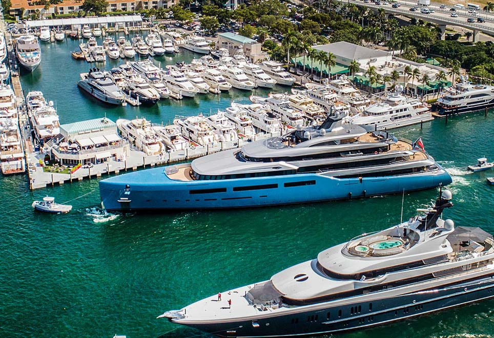 Le Fort Lauderdale International Boat Show