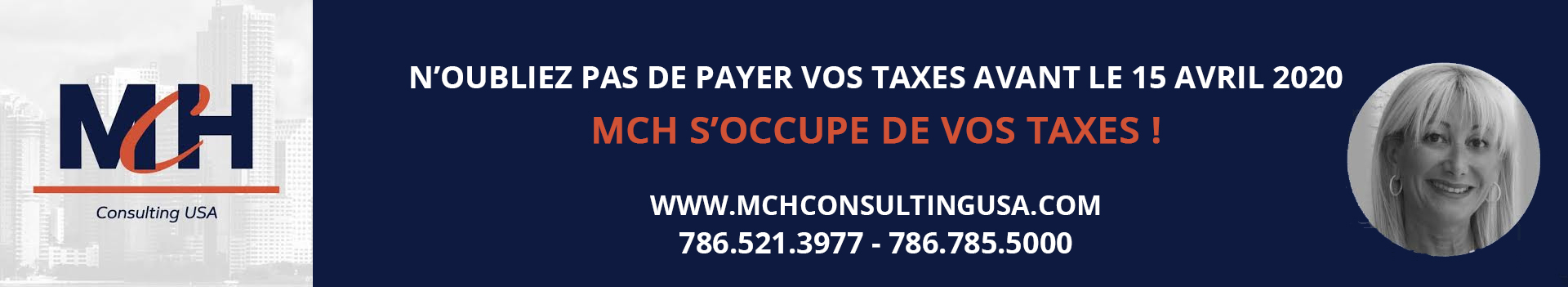 MCH TAXES AVRIL 2020
