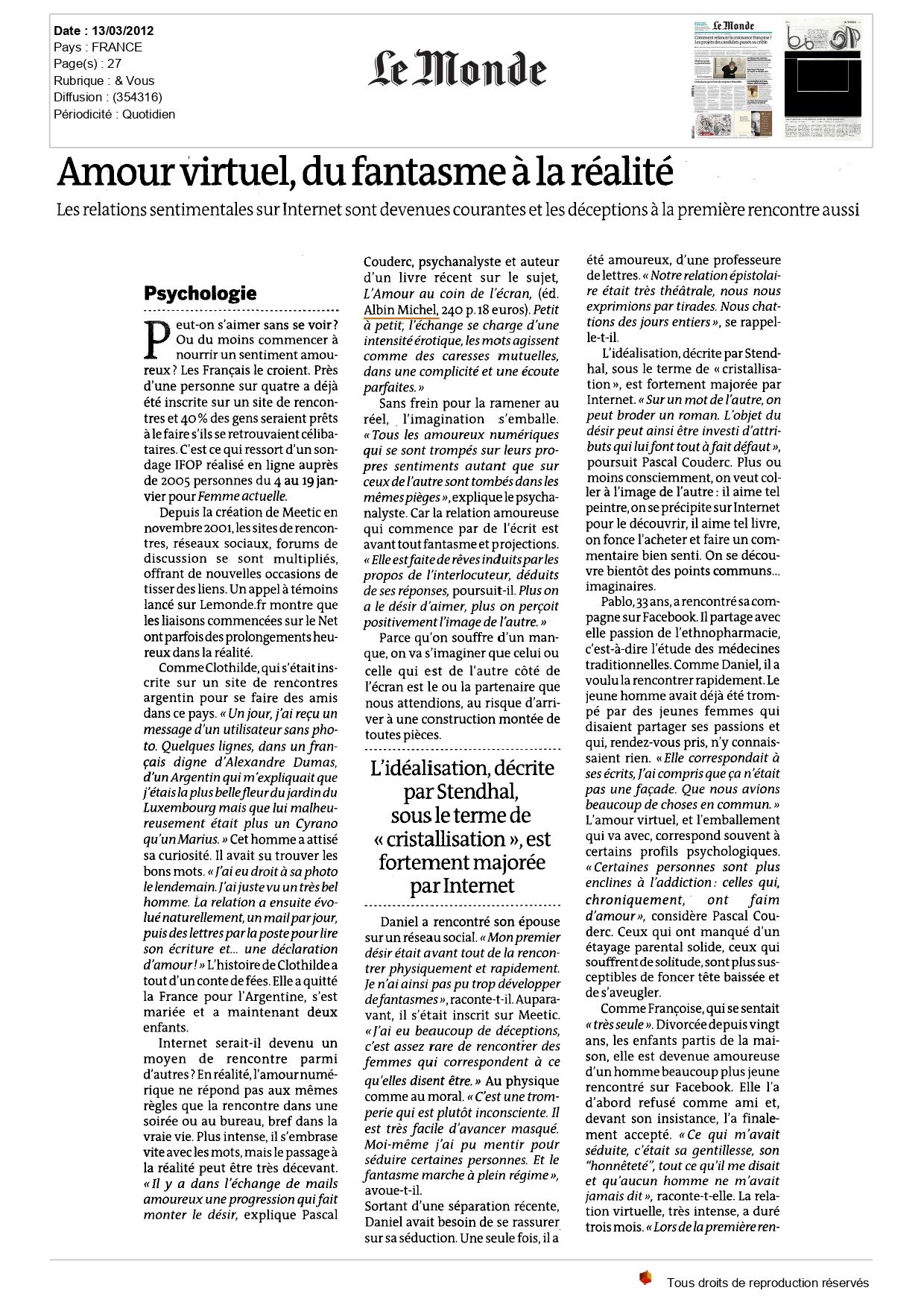 Le Monde_article-pascal-couderc