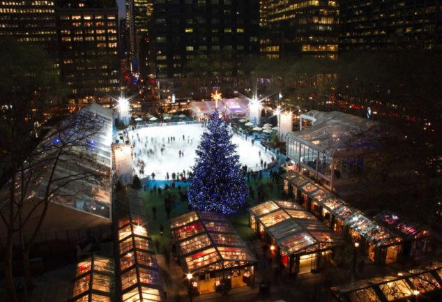 Les meilleurs marchés de Noël à New York