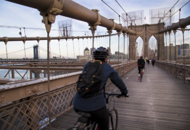 Un tour nocturne à vélo de Manhattan au Brooklyn Bridge