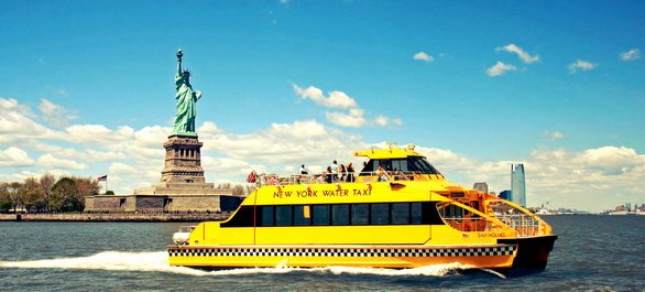 Les Water Taxis de New York
