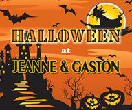 Le soir d'Halloween, tout est permis … Venez dîner déguisés chez Jeanne & Gaston !