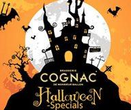 C'est  toujours la fête dans la brasserie Cognac, et encore plus le soir d'Halloween lors de sa Cognac Halloween Party !