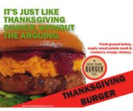 New York Burger Co. a mis Thanksgiving dans un hamburger