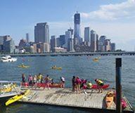 Faire du kayak gratuitement à NYC